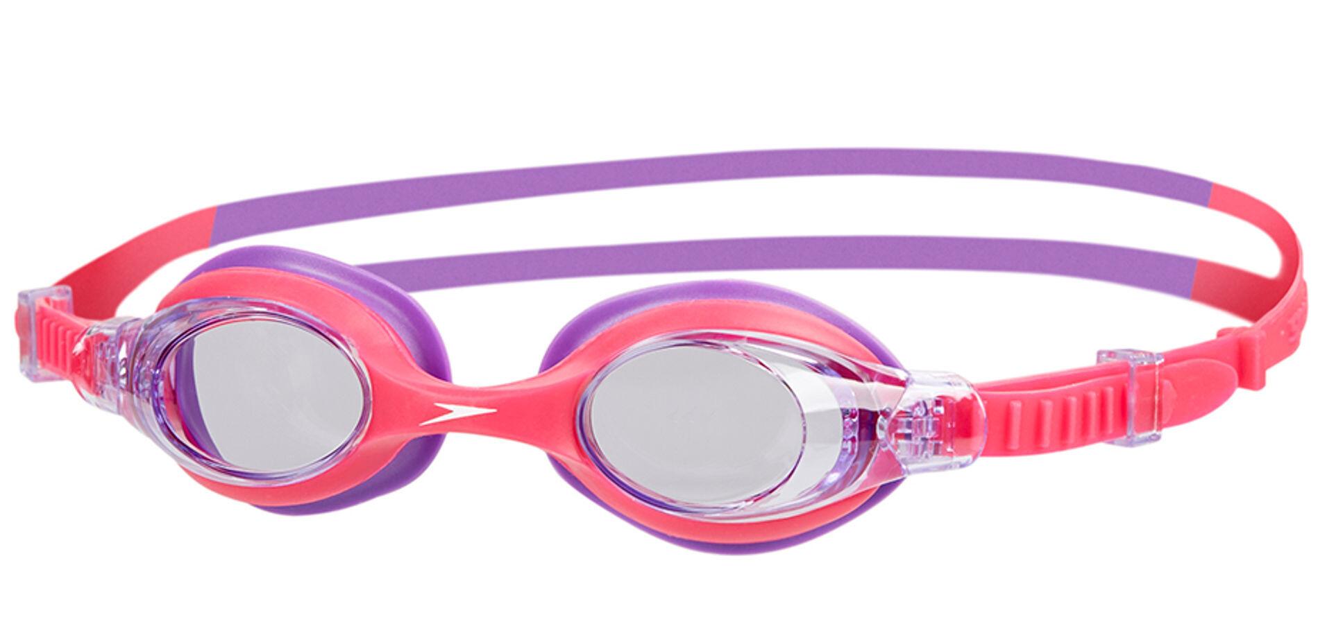 speedo sea squad goggle children pinkpurple at addnature
